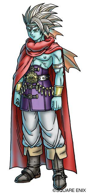 オーディス王子。ドラクエ10のキャラクターまとめ