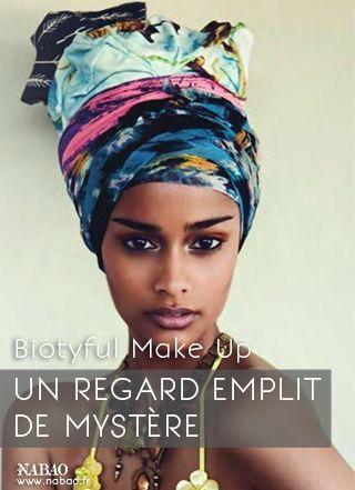 Biotyful Make Up:  Choisissez un crayon khôl noir à pointe grasse pour une couleur intense. Pour fixer le trait, ayez le réflexe poudre libre ! Et plutôt qu'à l'intérieur de l'oeil préférez une application au ras des cils inférieurs.  #Nabao #MakeUp #Maquillage #Conseil #Tips