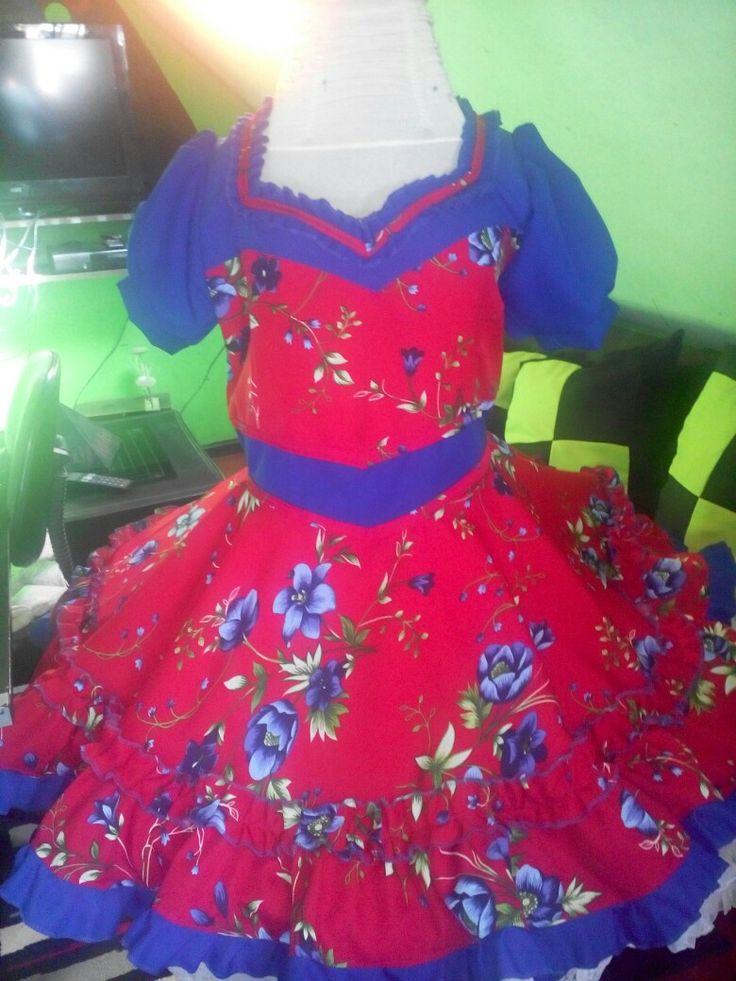 Vestido de huasa talla  xl