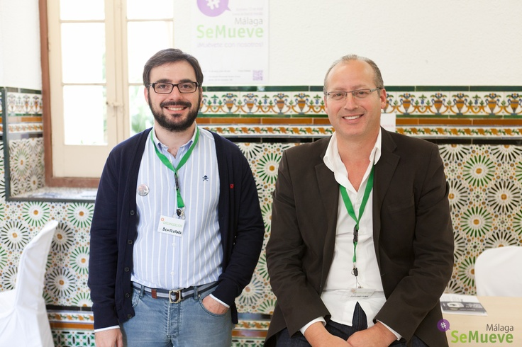 @luisgarciamk y @benitezrafa en #malagasemueve