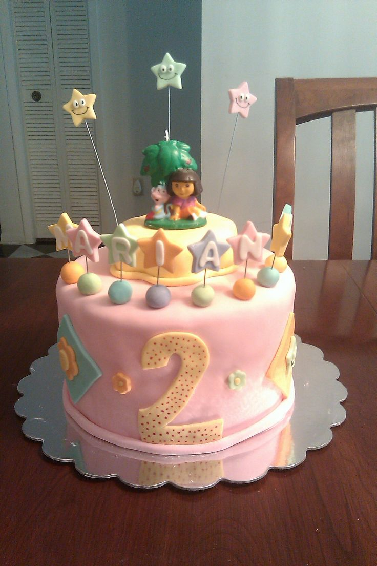 Cake for a 2 year old girl My cakes Pinterest Cake