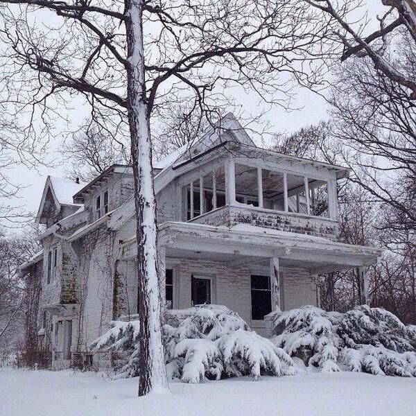 Abandoned house in Milwaukee.
