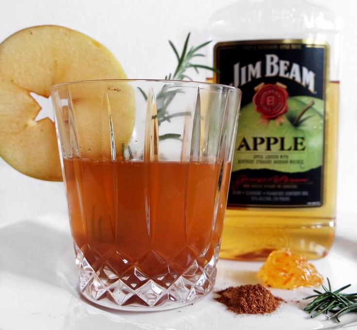 Jim Beam Apple Fall Cocktail Miss Foodie Problems