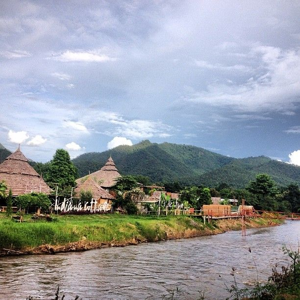 Pai is a relaxed riverside town, popular with both backpackers and tourists.