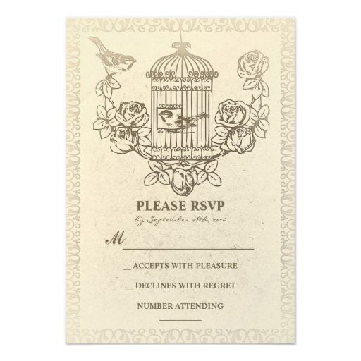 Wedding Invitations Birdcage: 17 Best Images About Love Bird Wedding Invitations On