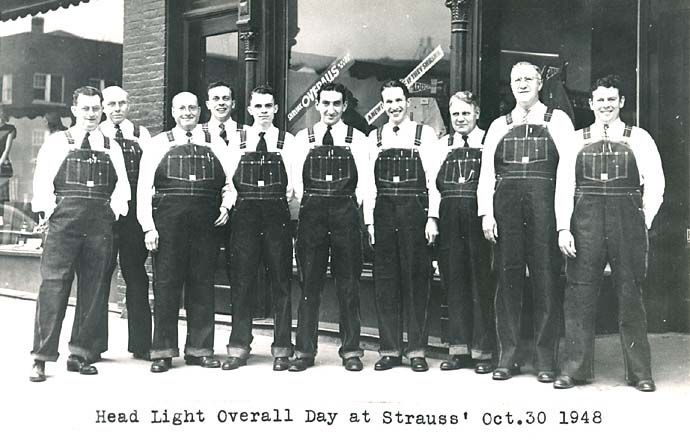 Head Light Overall day at Strauss - 1948