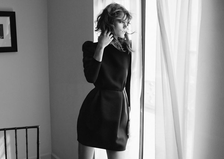 visual optimism; daily fashion fix.: freja beha erichsen for zara f/w 12.13