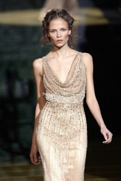 Natasha Poly at Elie Saab Spring 2006: You Can Haute, Paris Models, Couture Spring Summer, Natasha Poly, Elie Saab Spring, At Elie Saab, Spring 2006, Haute Couture, Spring Summer 2006