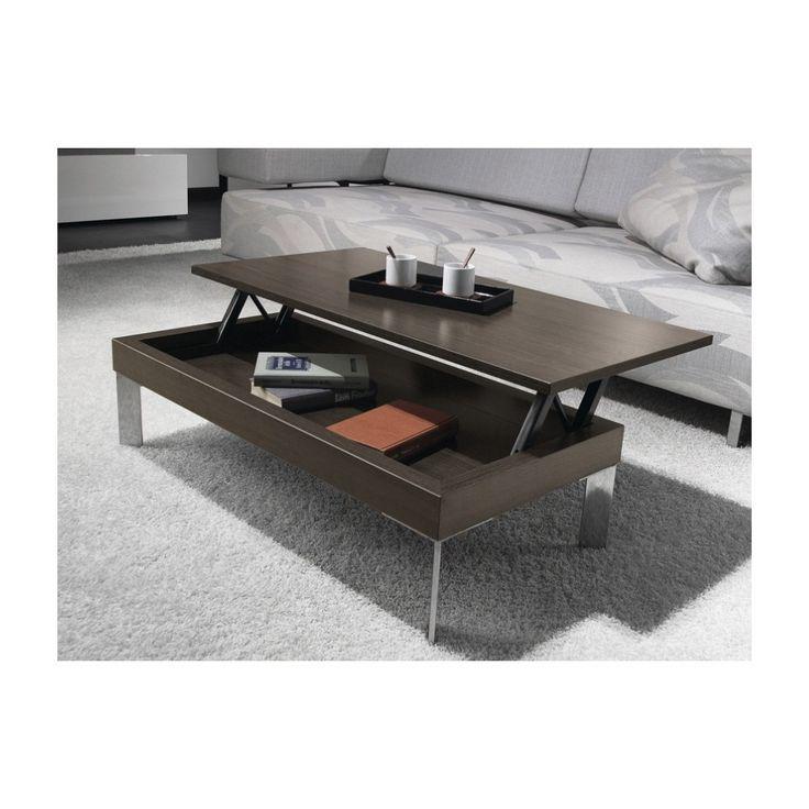 17 meilleures id es propos de table basse relevable sur pinterest table b - Fabriquer table basse relevable ...