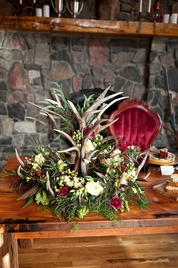 Rustic English Hunting Winter Wedding Ideas Weddings Pinterest Flowers And