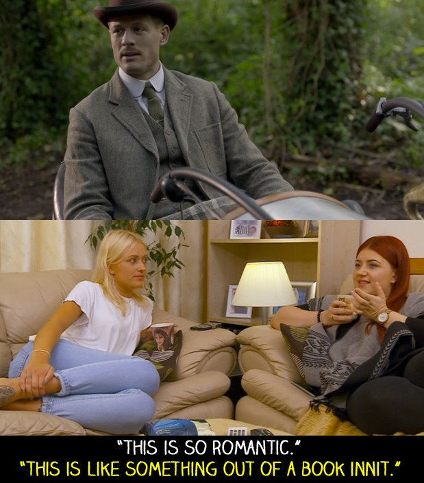 "During an BBC episode of Lady Chatterley's Lover. | 18 Times ""Gogglebox"" Failed So Much It Actually Won"