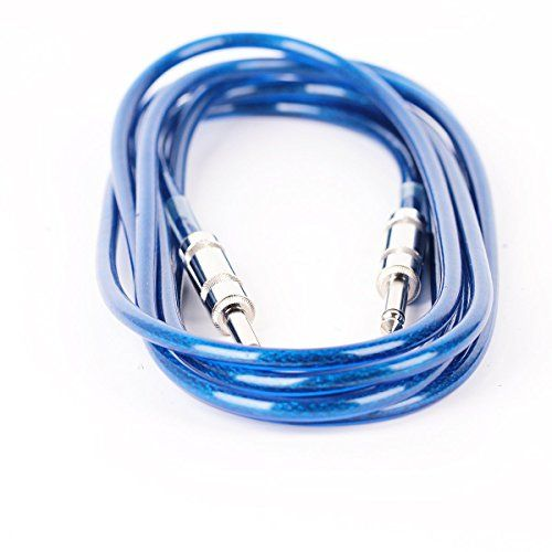 Twinbuys 10ft 3M Guitar Cable Amp Amplifier Lead Cord Blue HQ ...