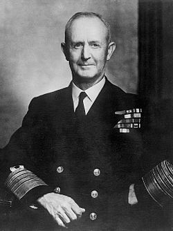 Admiral of the Fleet & First Sea Lord ~ Admiral Andrew Cunningham
