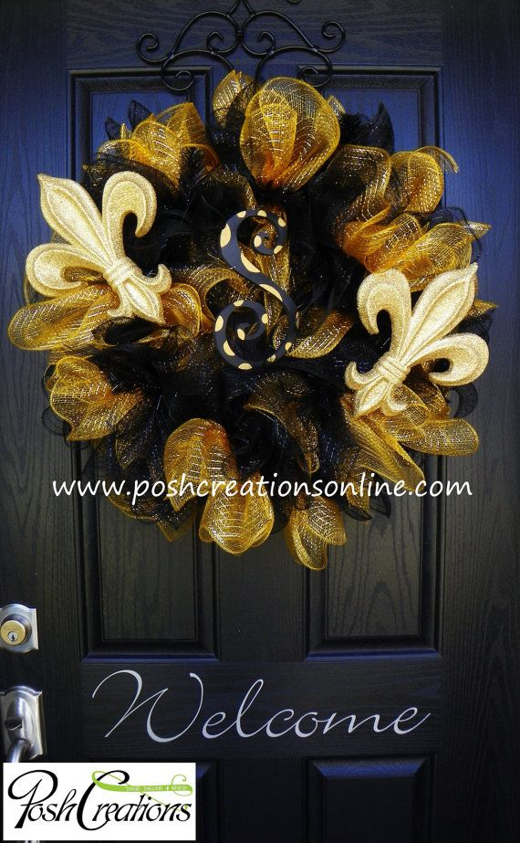 25 Best Ideas About Saints Wreath On Pinterest New
