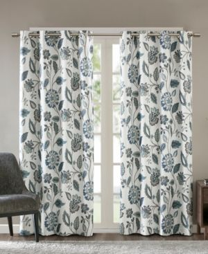 Attell Nature Floral Curtain Panel