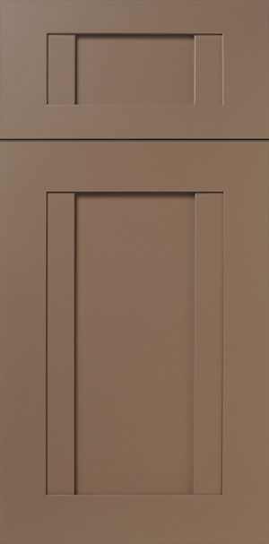 S856 Poe   Applied Molding Cabinet Door U0026 Drawer Front With Painted Taupe  Finish. Adventure
