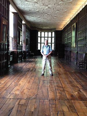 This Old English Floor? Bet You Can't Take Your Eyes Off this Floor at Aston Hall