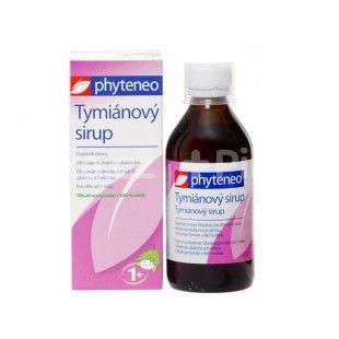 Phyteneo Tymiánový sirup od 1 roku 250ml