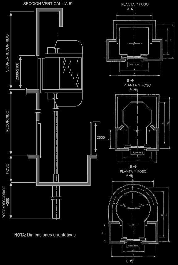 dimensiones elevador panoramico - Buscar con Google