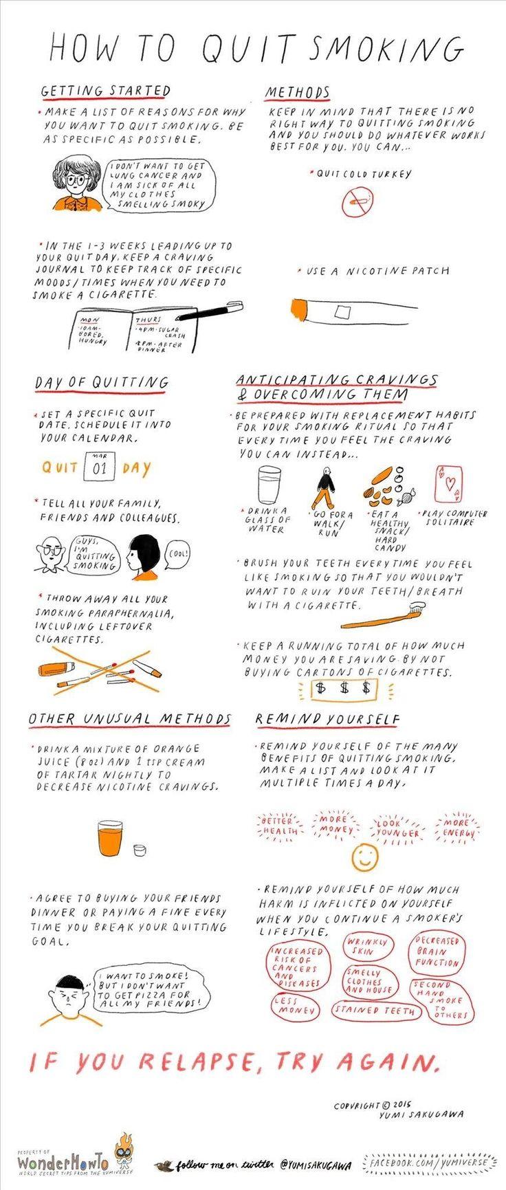 Een geïllustreerde gids «The Secret Yumiverse: hoe om te stoppen met roken