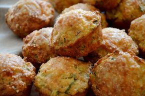 Bramborové muffiny se slaninou a libečkem