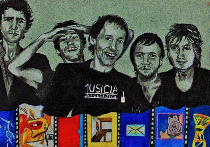 Dire Straits drawing fan art