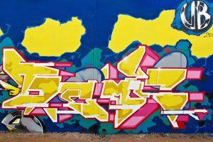 Friday Spotlight: DEMS – view more (futuristic) images @ http://origin.juxtapoz.com/Graffiti/friday-spotlight-dems – #graffiti #fridayspotlight #dems