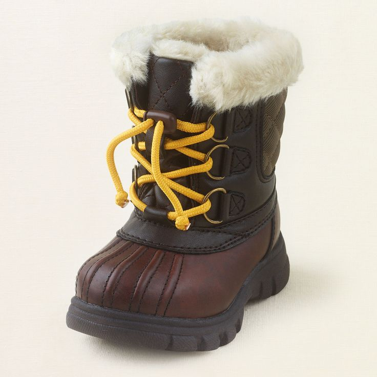 Need Snow!!!  baby boy - shoes - Alaska duck boot   The Children's Place