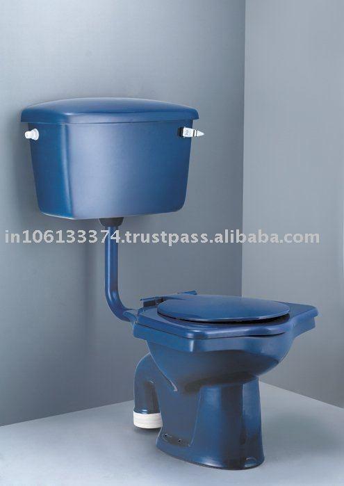 Interesting Blue Water Closet