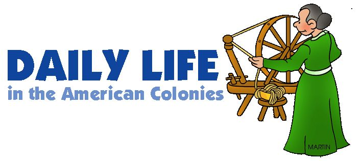 Daily Life - 13 Colonies - FREE American History Lesson Plans & Games for Kids