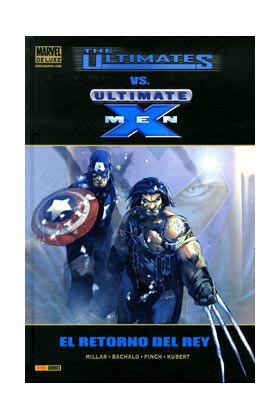 Cómic The ultimates vs Ultimate X-Men. El Retorno del Rey (Marvel Deluxe)