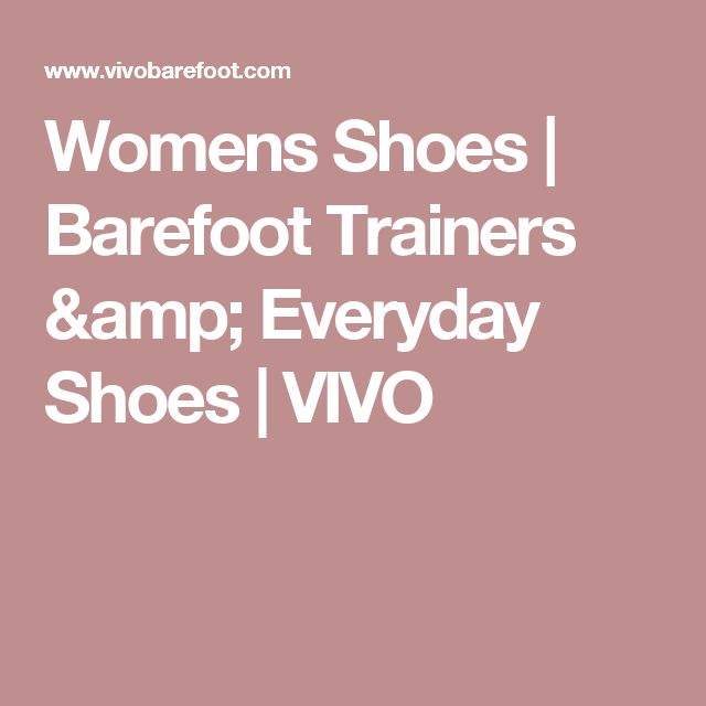 Womens Shoes | Barefoot Trainers & Everyday Shoes  | VIVO
