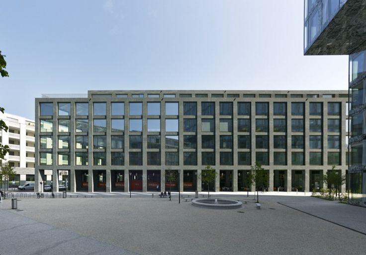 Max Dudler - Richtiring Office Building,  Wallisellen, Switzerland (2014) #offices