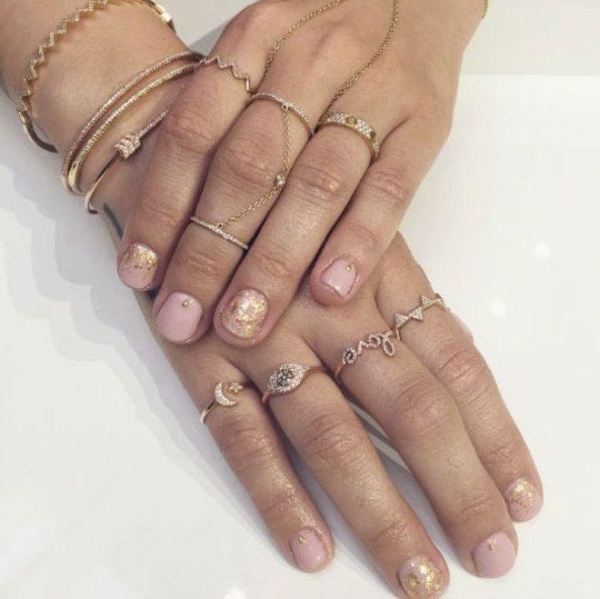 Nail art das celebridades | Demi Lovato