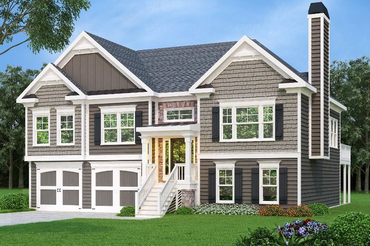 The 25 best split level house plans ideas on pinterest for House plans with future expansion