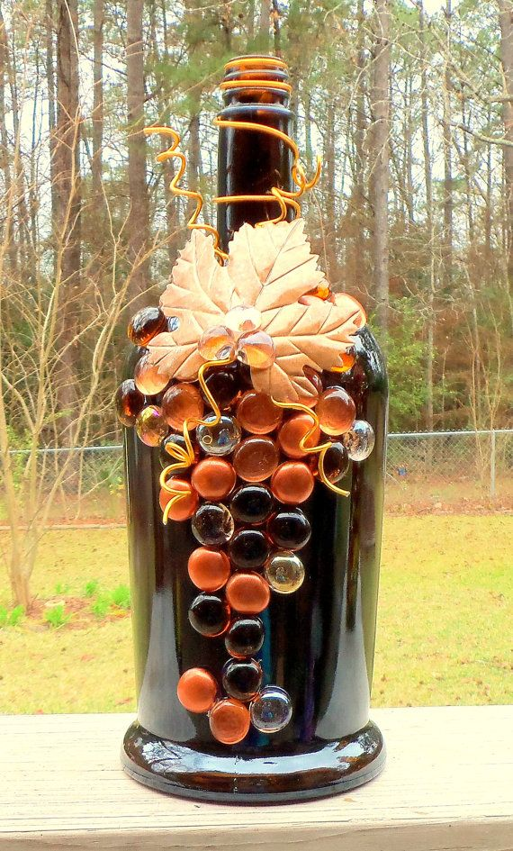 Large Dark Brown Copper And Gold Liquor