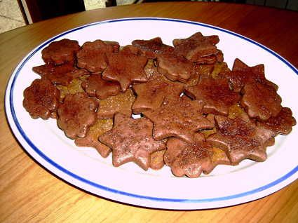 Biscuits secs au cacao