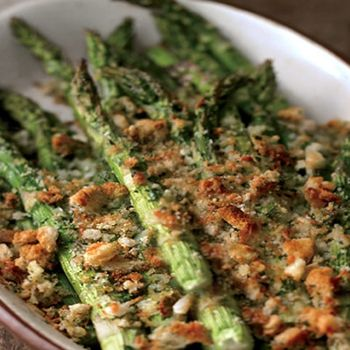 Spring asparagus and asiago gratin | All about food | Pinterest