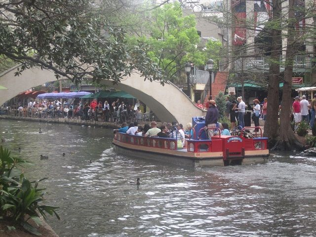 The Famous River Walk in San Antonio, Texas