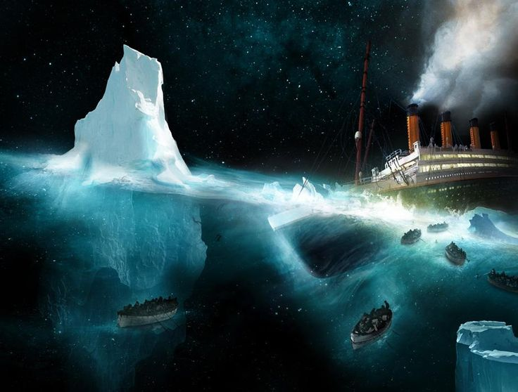 Aurelien Police Cover Illustration For Titanic L Instinct De Vie By Bernard Marck 2012 Titanic Titanic History Photo