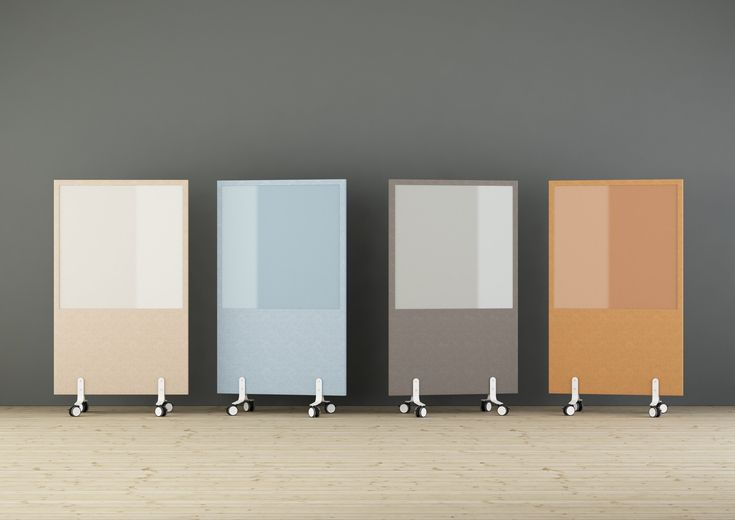 LimbusFloor NoteBoard is a floor screen with magnetic glass. Easy moveable with white feet on wheels. Choose color-matched glass for 8 different fabrics or white glass to any fabric. The floor screen has a perfect balance between sound absorption and sound propagation that is achieved with a sound reducing body and a sound absorbing polyether on both sides.