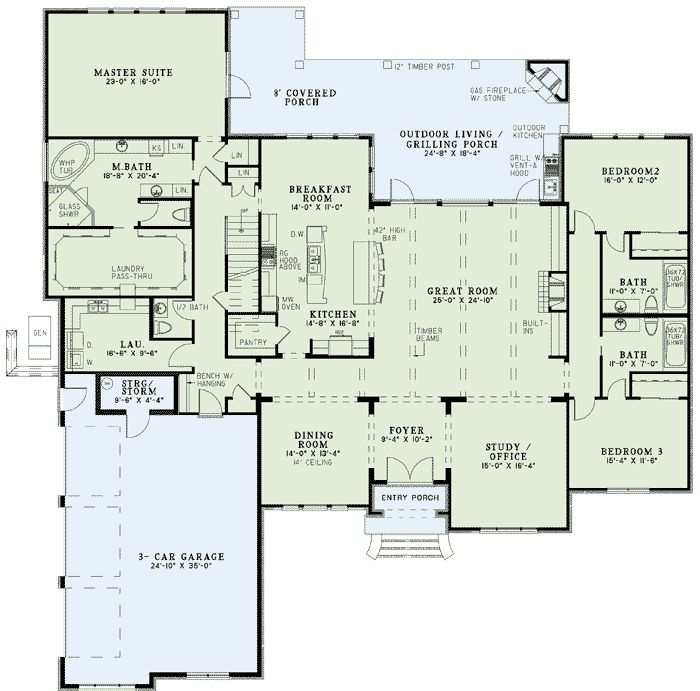 129 Best House Plans Tweaks Images On Pinterest