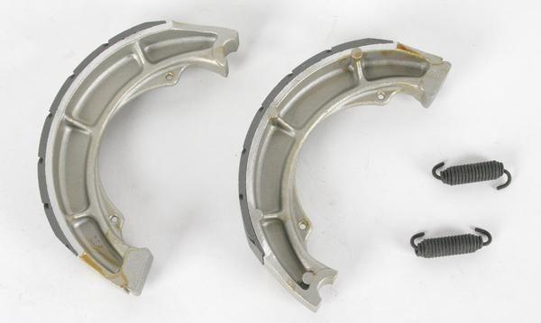 EBC 604G Water Grooved Brake Shoes #Kawasaki #KLX125L #Suzuki #DR100 #DRZ125 #DS80 #EBC #RacingWorks #PowerSports #MotoX