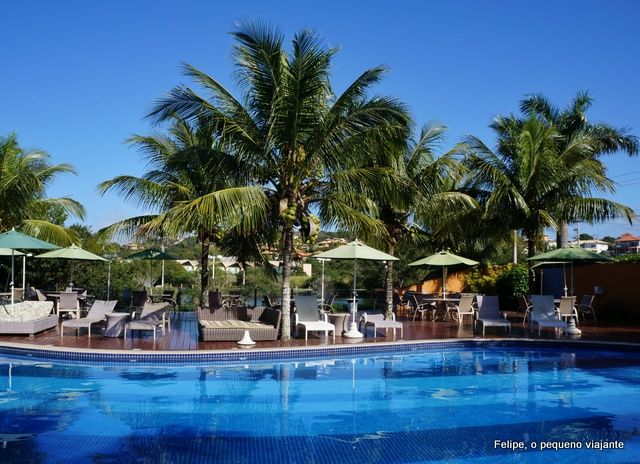 Post sobre o Hotel Ferradura Resort, em Búzios