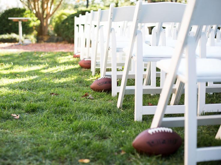 10 Wedding Traditions From Across the Country You Should Steal: #6. From College Football Towns: Game Days