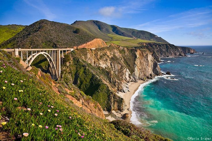 Bixby Bridge, Big Sur, California by Maria Draper - Photo 14989617 - 500px