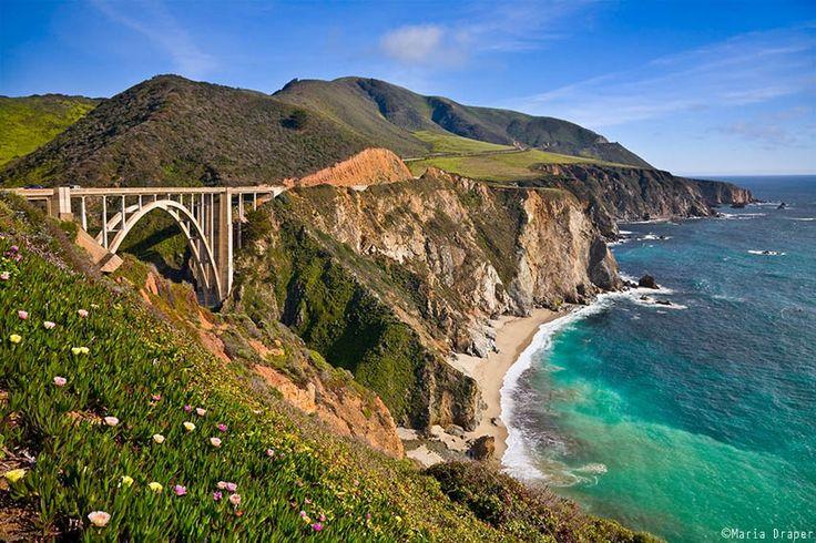 Bixby Bridge, Big Sur, California by Maria Draper - Photo 14989617 - 500px