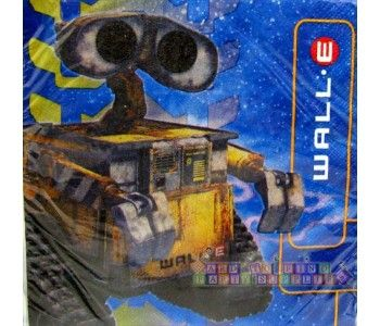 Wall E Large Napkins 16ct Birthday Party Ideas Decorations And Supplies Pinterest Birthdays