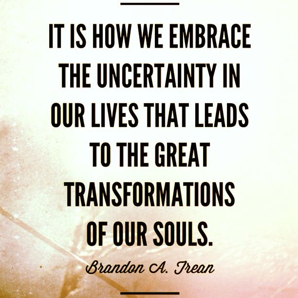 If you are currently facing uncertainty in your life, don't fret. Uncertainty is something that can be managed by taking the right approach. Here are my three best methods to manage uncertainty. Read more: http://personalexcellence.co/blog/uncertainty/ #life #lifemanagement #uncertainty #transformations