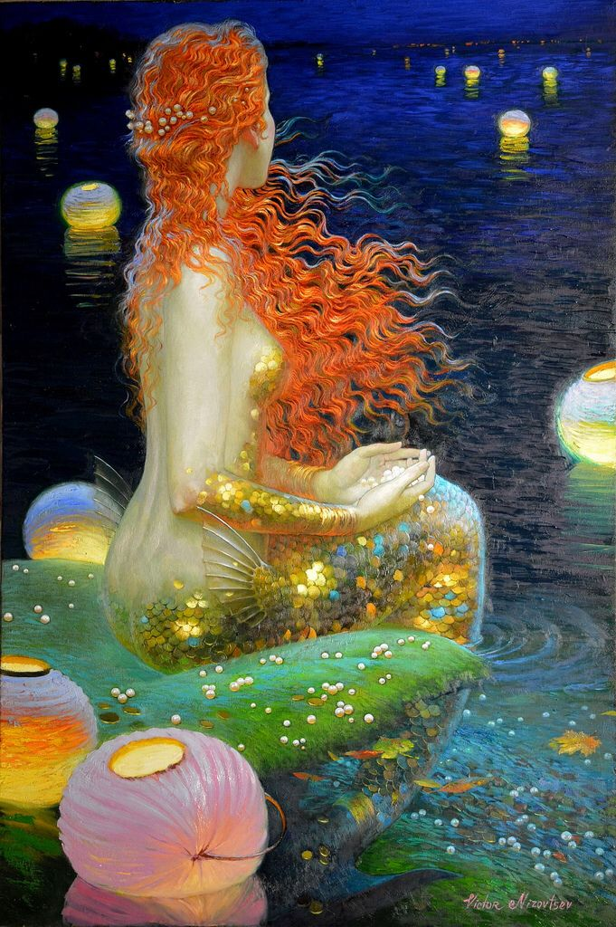 46 Best Mermaids By Victor Nizovtsev Images On Pinterest Mermaids Mermaid Art And Victor